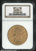 Liberty Double Eagles: , 1892-S $20 MS62 NGC. Perhaps Breen-7312, as the upper ...