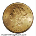 Liberty Double Eagles: , 1906-D $20 MS64 PCGS. The 1906-D is the first year of ...