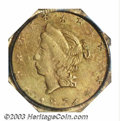 California Fractional Gold: , 1874 50C Liberty Octagonal 50 Cents, BG-930, R.5, MS63 PCGS....