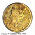 California Fractional Gold: , 1869 50C Liberty Round 50 Cents, BG-1021, High R.6, AU55 ...