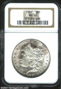 Morgan Dollars: , 1887 MS65 NGC. The current Coin Dealer Newsletter (...