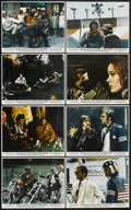 "Movie Posters:Drama, Easy Rider (Columbia, 1969). Color Still Set of 8 (8"" X 10"").Drama.... (Total: 8 Items)"
