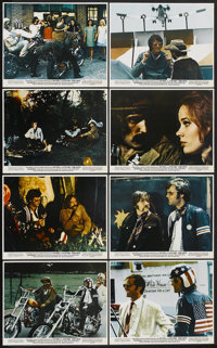 """Easy Rider (Columbia, 1969). Color Still Set of 8 (8"""" X 10""""). Drama.... (Total: 8 Items)"""