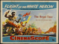 "Movie Posters:Documentary, Flight of the White Heron (20th Century Fox, 1954). British Quad (30"" X 40""). Documentary...."