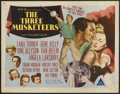 "Movie Posters:Adventure, The Three Musketeers (MGM, 1948). Half Sheet (22"" X 28"") Style A.Adventure...."