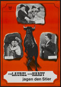 "Movie Posters:Comedy, The Bullfighters (20th Century Fox, R-1960s). German A1 (23"" X 33""). Comedy...."