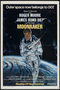 "Movie Posters:James Bond, Moonraker (United Artists, 1979). One Sheet (27"" X 41"") AdvanceStyle A. James Bond...."