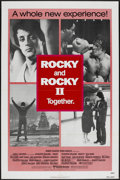 "Movie Posters:Sports, Rocky/Rocky II Combo (United Artists, 1980). One Sheet (27"" X 41""). Sports...."