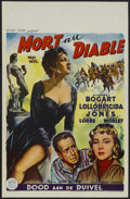 "Movie Posters:Adventure, Beat the Devil (Allied Films, 1953). Belgian (14"" X 21.5"").Adventure...."
