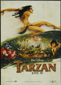 "Movie Posters:Animated, Tarzan (Buena Vista, 1999). One Sheet (27"" X 40"") DS. Animated...."