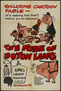 "Movie Posters:Animated, The Rise of Duton Lang (Columbia, 1956). One Sheet (27"" X 41"").Animated...."