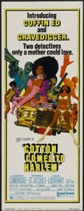 "Movie Posters:Blaxploitation, Cotton Comes to Harlem (United Artists, 1970). Insert (14"" X 36"").Blaxploitation...."