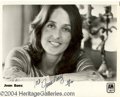 Autographs, Joan Baez Signed 8 x 10 Photo