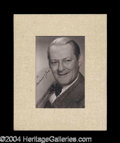 Autographs, Lionel Barrymore Vintage Signed Photograph