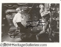 Autographs, Lloyd Bridges Signed 8 x 10 Photo