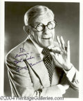 Autographs, George Burns Signed 8 x 10 Photo