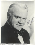 Autographs, James Cagney Choice Signed Photo