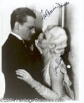 Autographs, James Cagney Signed Photo w/ Harlow!