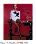 Autographs, Angie Dickinson Superb Signed Photo