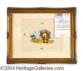 Autographs, Disney Original Donald Duck Art Cel
