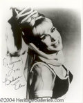 Autographs, Barbara Eden Signed Jeannie Photo