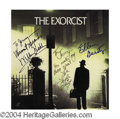 Autographs, The Exorcist Cast Signed Soundtrack LP