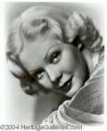Autographs, Alice Faye Signed Photograph