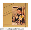 Autographs, W.C. Fields Signed Matted Display