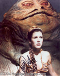 Autographs, Carrie Fisher Signed Star Wars Photo