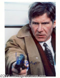 Autographs, Harrison Ford Rare In-Person Signed Photo