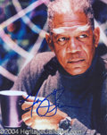 Autographs, Morgan Freeman In-Person Signed Photo