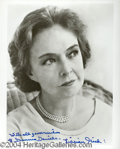 Autographs, Lillian Gish Signed 8 x 10 Photo