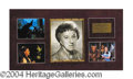 Autographs, Margaret Hamilton WWW Signed Display