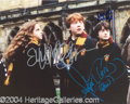 Autographs, Harry Potter Cast Signed Photo