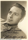 Autographs, Paul Henreid Signed Vintage Photograph