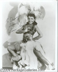 Autographs, Lena Horne Signed 8 x 10 Photo