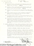 Autographs, Kate Jackson Signed Document