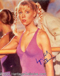 Autographs, Lynn Holly Johnson Signed 007 Photo