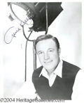 Autographs, Gene Kelly 8 x 10 Signed Photo