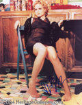 Autographs, Jennifer Jason Leigh In-Person Signed Photo