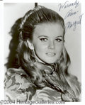 Autographs, Ann-Margret Signed 8 x 10 Photograph