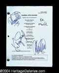 Autographs, Married With Children Cast Signed Script