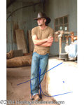 Autographs, Tim McGraw In-Person Signed Photo