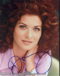 Autographs, Debra Messing In-Person Signed Photo