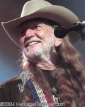Autographs, Willie Nelson In-Person Signed Photo