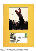 Autographs, Jack Nicklaus Signed First Day Cover
