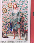 Autographs, Cynthia Nixon In-Person Signed Photo