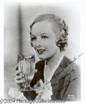 Autographs, Marian Nixon Signed Photo