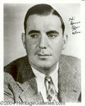 Autographs, Pat O' Brien Signed 8 x 10 Photo
