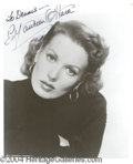 Autographs, Maureen O' Hara Signed 8 x 10 Photo